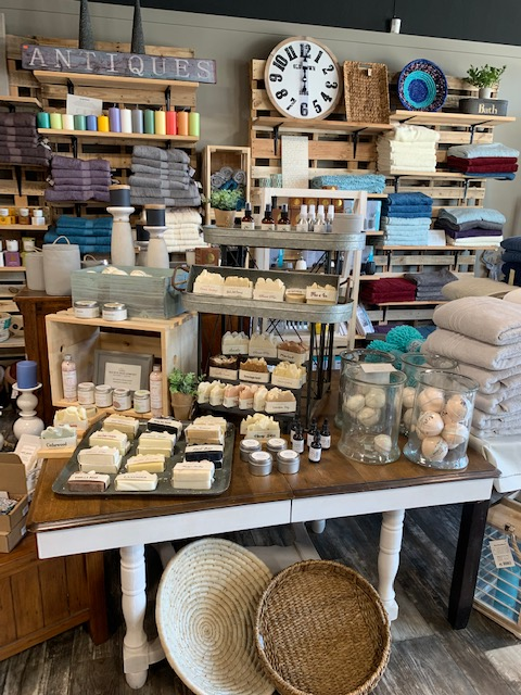 old soul soap company display